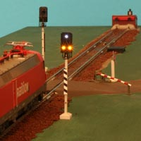Level Crossing with Car